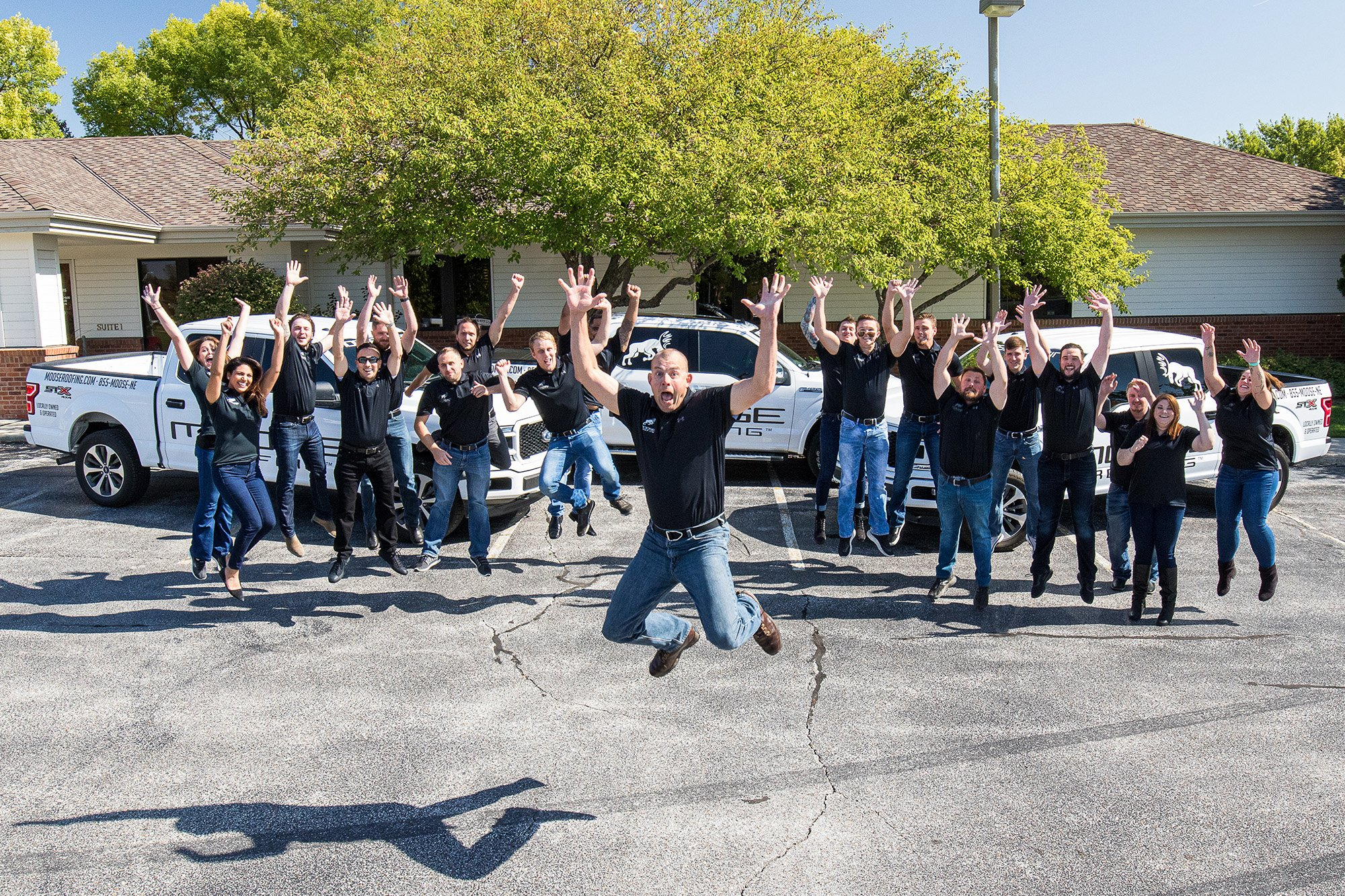 Moose is Omaha's best roofing company!