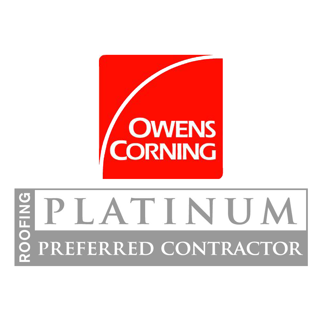 Moose Roofing in Omaha is an Owens Corning Platinum Preferred Contractor.