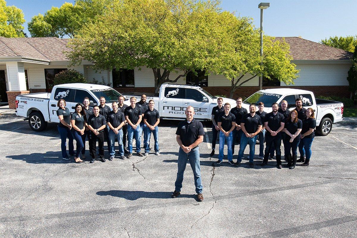 Moose Roofing's team is based in Omaha